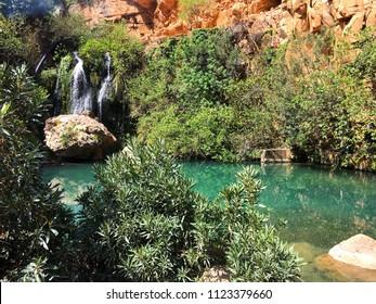 El-Ourit Waterfalls, Tlemcen, Algeria.
