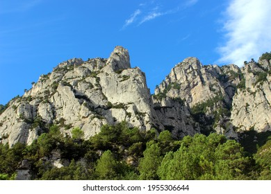 Els Ports rugged mountain range in the Parc Natural dels Ports, Catalonia, Spain