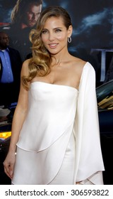 Elsa Pataky at the Los Angeles premiere of 'Thor' held at the El Capitan Theater in Hollywood, USA on May 5, 2011.