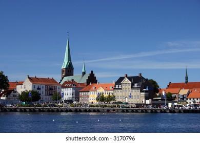 Elsinore (Helsingor): harbor. Denmark
