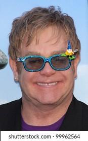 "Elton John  at the ""Gnomeo & Juliet"" Los Angeles Premiere, El Capitan, Hollywood, CA. 01-23-11"