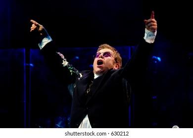 Elton John live in Rome on 3rd of september 2005