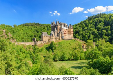 Eltz Castle panorama