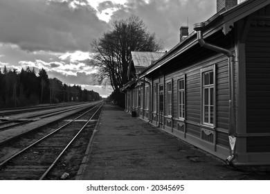 Elva railway station, Tartu county, Estonia