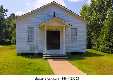 Elvis Presley Family Church, Elvis Presley Birthplace. The Assembly of God in Tulepo Mississippi October 5 2017