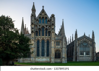 Ely Cathedral, a 10th century cathedral at Ely, Cambridgeshire, UK
