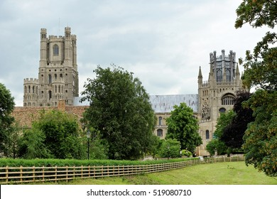 Ely Cathedral, an Anglican cathedral in the English city of Ely, Cambridgeshire.
