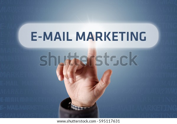 E-Mail Marketing - Touch Screen Concept