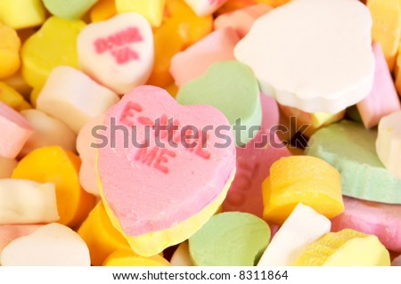 Email Me candy heart