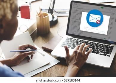 E-mail Popup Warning Window