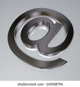 email symbol - at symbol