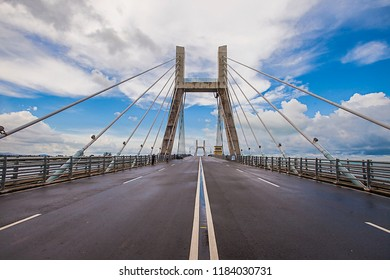 Emas Bridge, a new icon of Pangkal Pinang City.