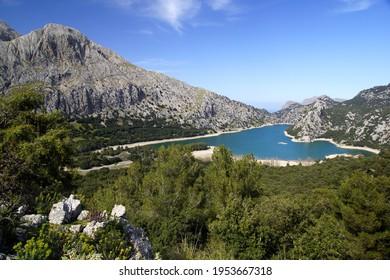 Embalse Gorg Blau in Serra de Tramuntana - Mallorca (Spain)