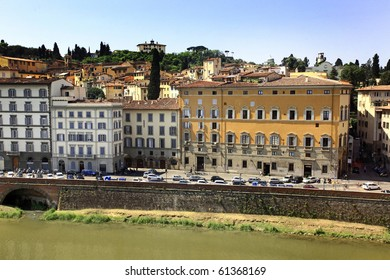The embankment in the Florence