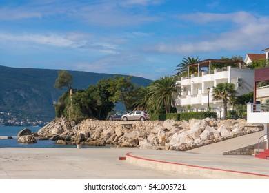 Embankment of Herceg-Novi, Montenegro