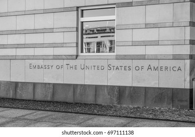 Embassy of the United States of America in Berlin - BERLIN / GERMANY - SEPTEMBER 2, 2016