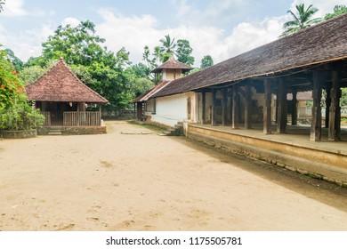 Embekka Devalaya (Embekke Devale) temple near Kandy, Sri Lanka