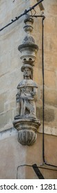 an embelishment of a building in Arles city of Provence France