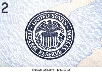emblem US Federal Reserve
