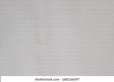 Embossed vinyl texture of a white bag. White abstract fabric texture background. wallpaper or linen canvas art. Raster modern geometric abstract background in black, white and gray colors