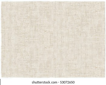 embroidery canvas clean white