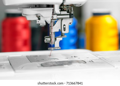 Embroidery machine, Automatic sewing machine