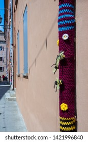 embroidery on plants and trees market of the absurd castelvetro di modena