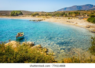 Emerald beaches of Naxos, Greece