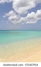 Emerald Caribbean Sea at the Barbados
