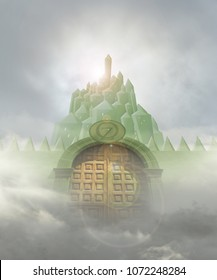 emerald city door