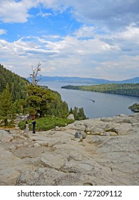 Emerald Cove is perhaps the most beautiful spot on Lake Tahoe, although there are many scenes of beauty to take in.