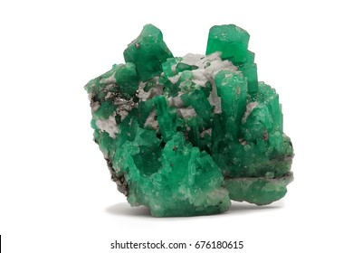 emerald crystals  natural gemstone for jewetry , stone quartz jade