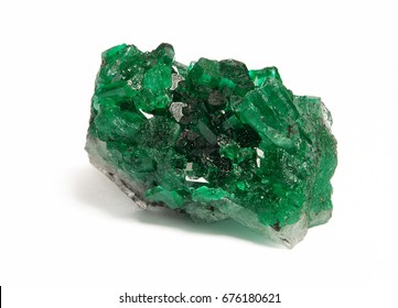 emerald crystals  natural gemstone for jewetry , stone hight quality