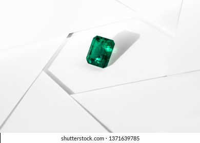 emerald and gemstone crystal and green gem