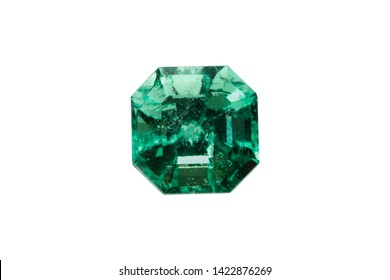 emerald and gemstone square crystal for jewelry