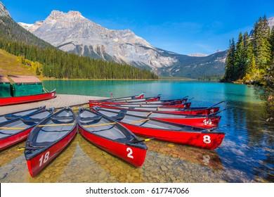 Emerald Lake, Alberta Canada