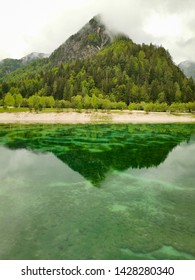 emerald lake jasna in slovenia
