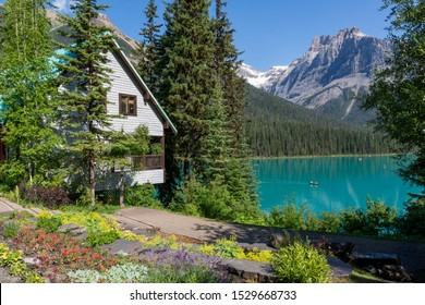 Emerald Lake Lodge at Emerald Lake, Canada