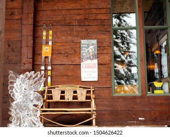 Emerald Lake Lodge, Yoho / Canada - January 15 2015