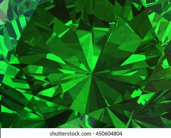 Emerald backgrounds emerald texture background diamond 3d illustration voltagebd Choice Image