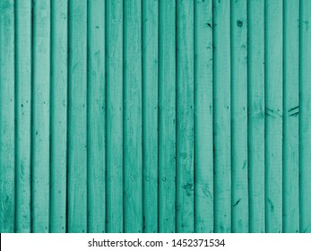 Emerald wooden wall, perfect for background or texture