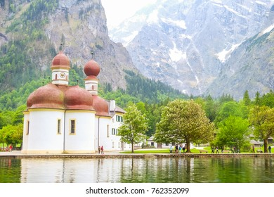 The Königssee is an emerald-green gem of a lake in the Berchtesgaden National Park.