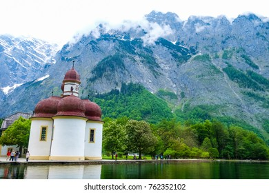 The Königssee is an emerald-green gem of a lake in the Berchtesgaden National Park.