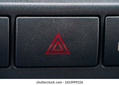 Emergency button in the car