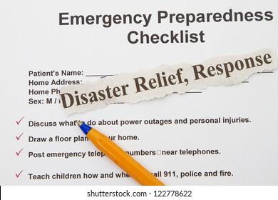 Emergency Preparedness Images, Stock Photos & Vectors