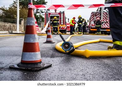 Emergency Crew on the Scene