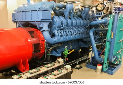 emergency diesel generator for a data center