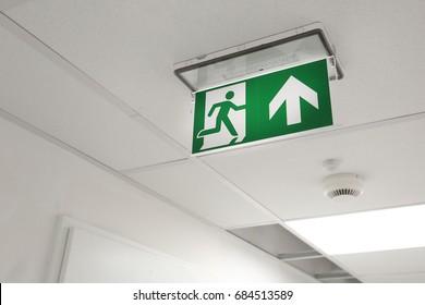 Emergency exit in office