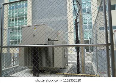 Emergency generator at Hospital.
