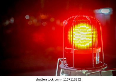 emergency light in night time/ emergency light/Siren light
